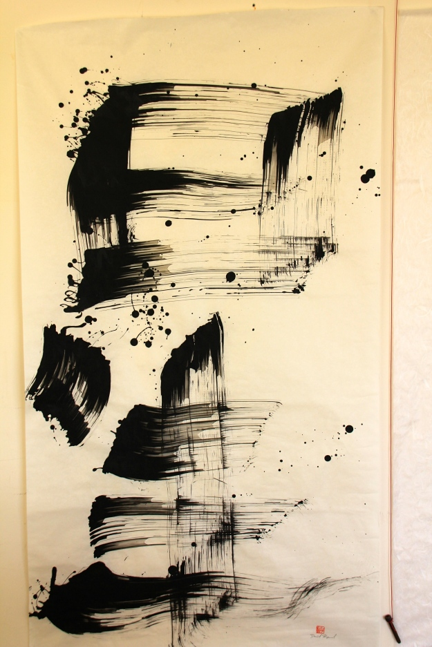 David Krogsrud's 'Outer Space shodo
